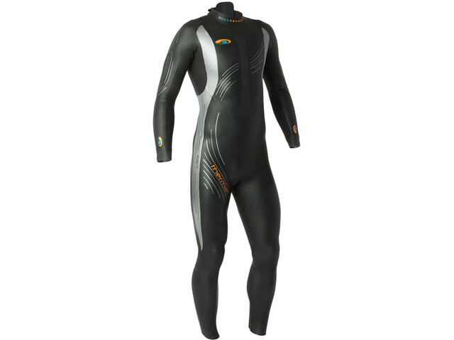 blueseventy Thermal Reaction Traje Triatlón Hombre, black-grey